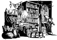 a wizard's lab